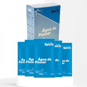 AGUA DE PASSAR (caixa com 5 saches – rende 5 litros ou mais)